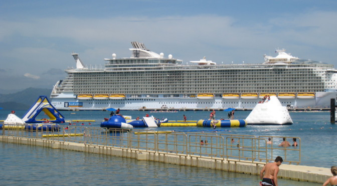 De eerste cruise ervaring